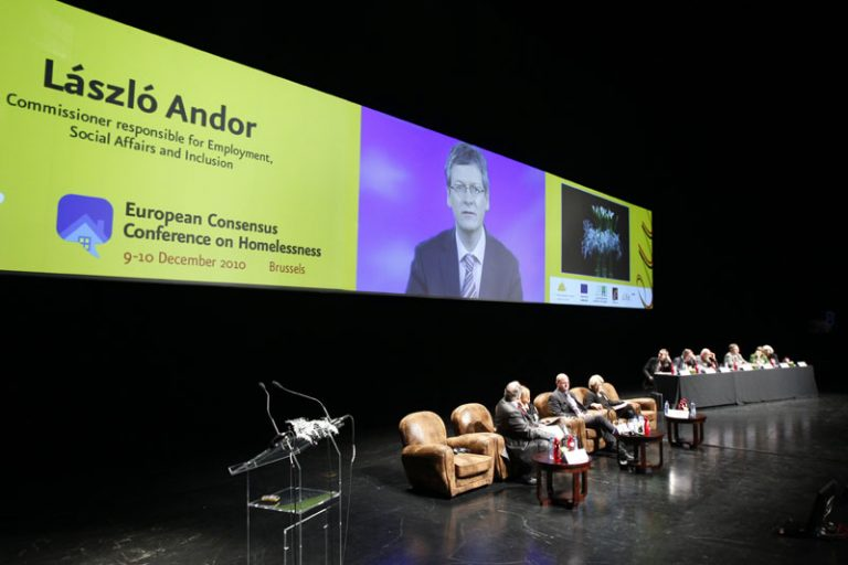 The European Union's commitment to more effective policies against homelessness